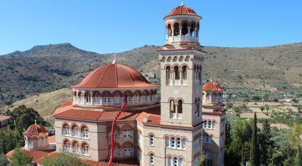 Religiöse Orte innerhalb oder ausserhalb von Athen